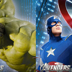 S.H.E.I.L.D and The Avengers banner