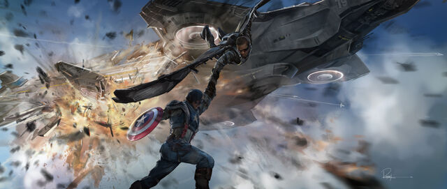 File:Captain America and Falcon Concept Art.jpg
