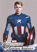 Captain America promocard