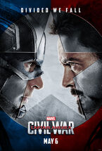 Captain America Civil War teaser 1 promotional poster