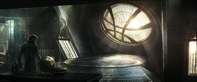 File:Doctor Strange Sanctum Concept art.jpg