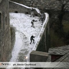 Set photo of Fort Bard, in  Aosta Valley, it