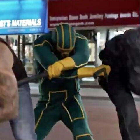 Appearing in <i>Kick-Ass 2</i>