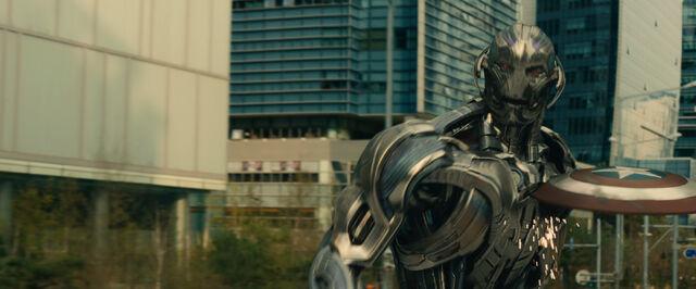 File:Cap's Shield Ultron damaged.jpg