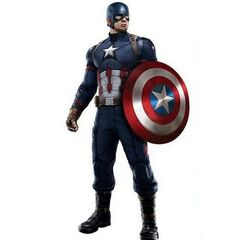 Slightly modified uniform for Captain America: Civil War.