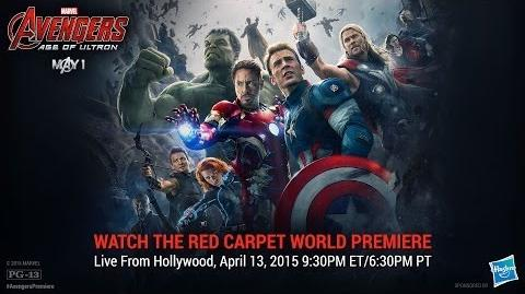 Marvel's Avengers Age of Ultron Red Carpet Premiere
