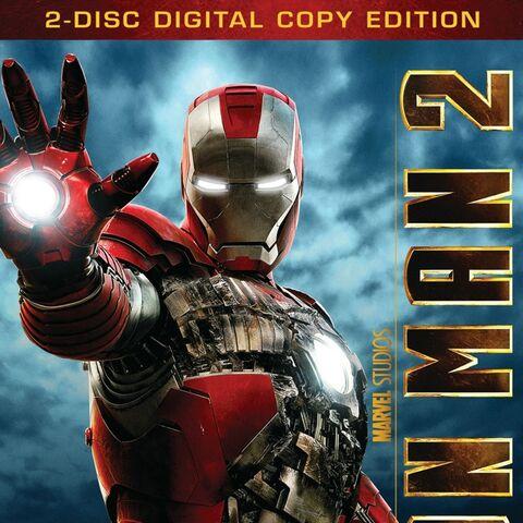 Iron Man 2 Dvd & Blu-Ray: Two-Disc