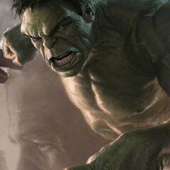 Hulk promo art.