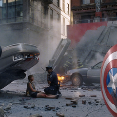 Aftermath of <i>The Avengers</i> (deleted scene)