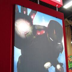 2012 Licensing Expo poster, teasing the Mark XLII.
