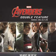Marvel Avengers: Double Feature AMC ad.