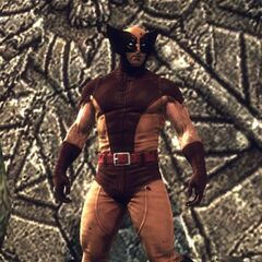 Legendary Wolverine Costume in the Video Game