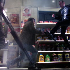 Phil Coulson in action