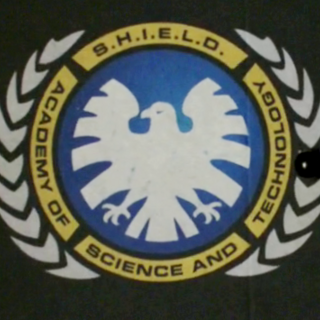 The emblem of Sci-Tech Academy