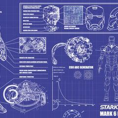 Iron Man Blueprints.