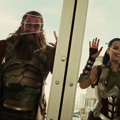 Sif and the Warriors Three find Thor