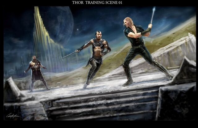 File:Warriors three training print.jpg