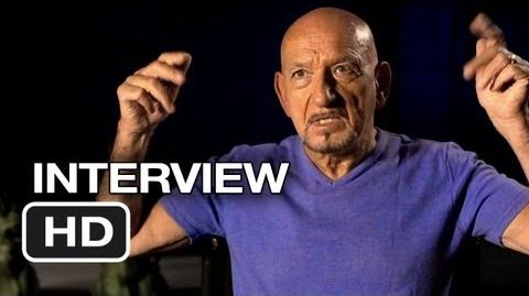 Iron Man 3 Interview - Ben Kingsley (2013) - Robert Downey Jr