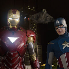 Iron Man and Captain America.