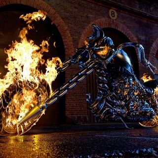 The Hellcycle in <i>Ghost Rider</i>