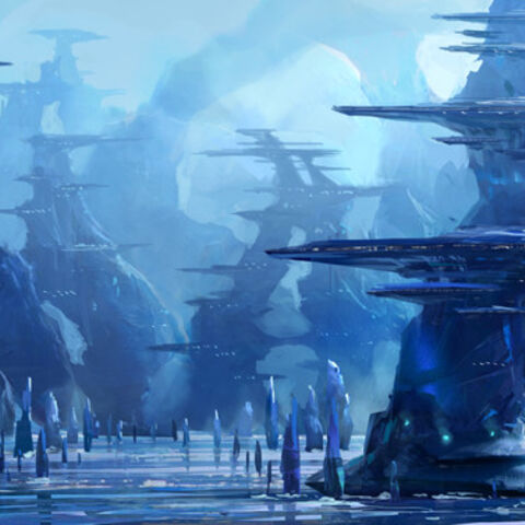 Concept art for Jotunheim.