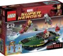 76006 Iron Man: Extremis Sea Port Battle