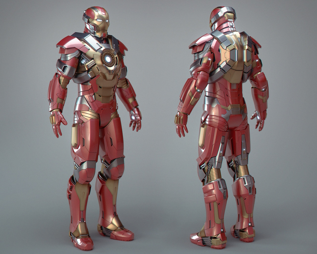 Heartbreaker 5 Iron Man Mark 17 Armor