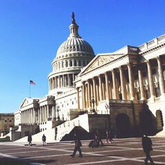 <b>1975: XAVIER GOES TO WASHINGTON.</b><br /> <i>Professor makes a closed door plea to U.S. politicians for basic rights.</i><br />Charles Xavier appears before the U.S. House of Representatives in a private closed session, asking for mutant freedoms including integration and privacy.