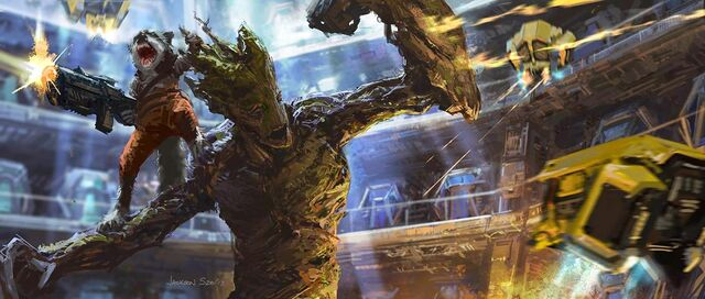 File:Rocket and Groot Keyframe Art.jpg