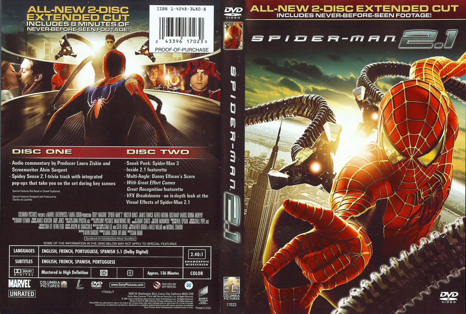 Image Spider Man 2 1 2004 Cover Jpg Marvel Movies