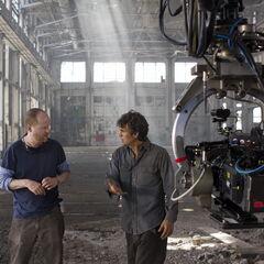 Joss Whedon and Mark Ruffalo.