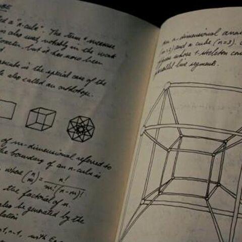 The hypercube as seen in <i>Iron Man 2</i>.