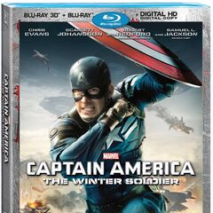 Captain America: The Winter Soldier 3D Blu-Ray Combo