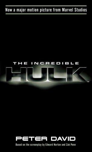The Incredible Hulk Novelization Marvel Movies