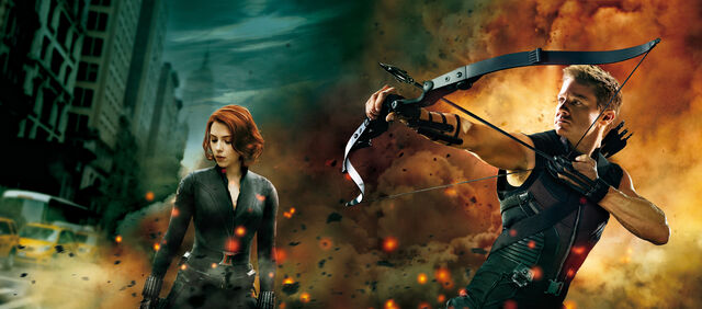 File:Black Widow and Hawkeye - Avenge.jpg