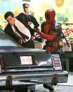 Deadpool reshoots 7