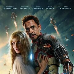 Tony and Pepper Poster.
