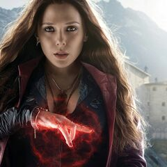 Scarlet Witch Character Poster