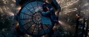 Spider-Man catches Gwen
