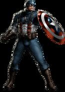 WWII Captain America Portrait Art