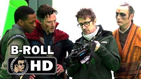 DOCTOR STRANGE B-Roll Footage 1 (2016) Benedict Cumberbatch Marvel Movie HD