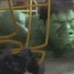 Appearing as a soldier in 2003's <i>HULK</i>