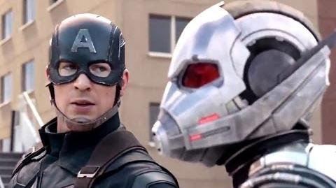 CAPTAIN AMERICA CIVIL WAR Movie Clip - Ant-Man's Water Truck (2016) Marvel Movie HD