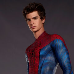 Peter Parker without his mask as Spider-Man.
