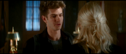 Peter telling Gwen about his discovery