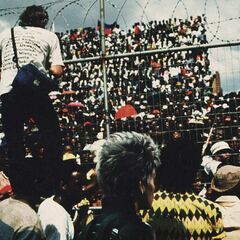 <b>1991: SOUTH AFRICAN REFORM.</b> <br /><i> South Africa ushers in an era of acceptance and equality, becoming a safe haven for mutants.</i> <br /> As the global conversation on mutant-human relations grows, South Africa proudly declares their country a unified and united refuge for all.