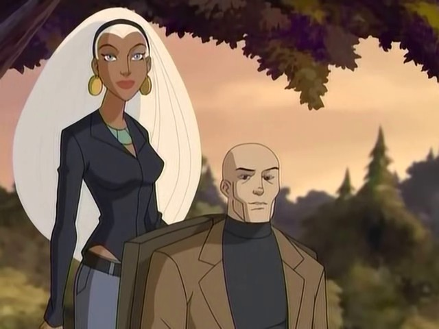 File:Xavier and Ororo (Wolverine and the X-Men).jpg