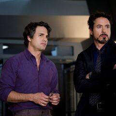 Tony Stark and <a href=