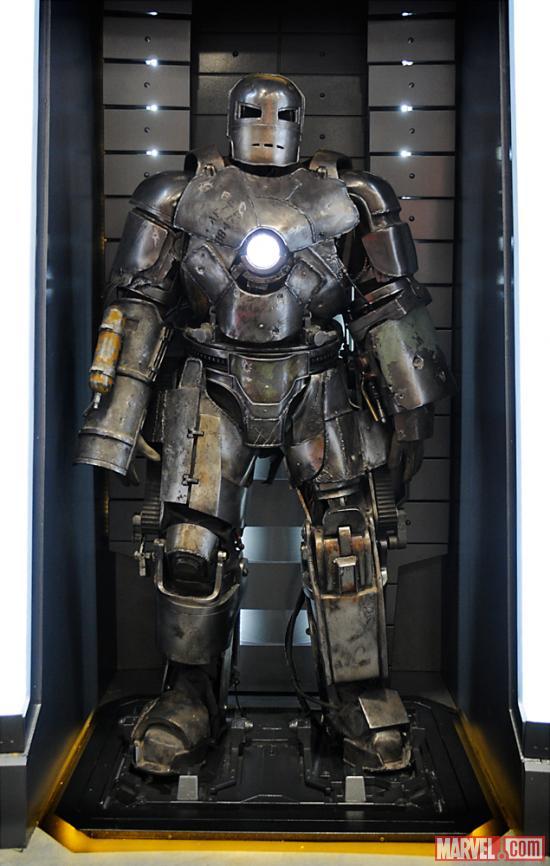 Mark Vii Iron Man Wiki Iron Man Armor Mark i