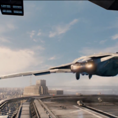 The Quinjet Heilpad landing zone.